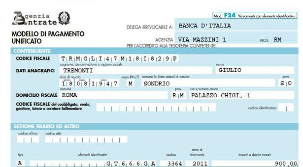 Pagamenti Con F24, Consentito Utilizzare Lu0027home Banking Per I Crediti Del  U201cbonus Renziu201d. Le Entrate Accolgono Le Richieste Di ANDI