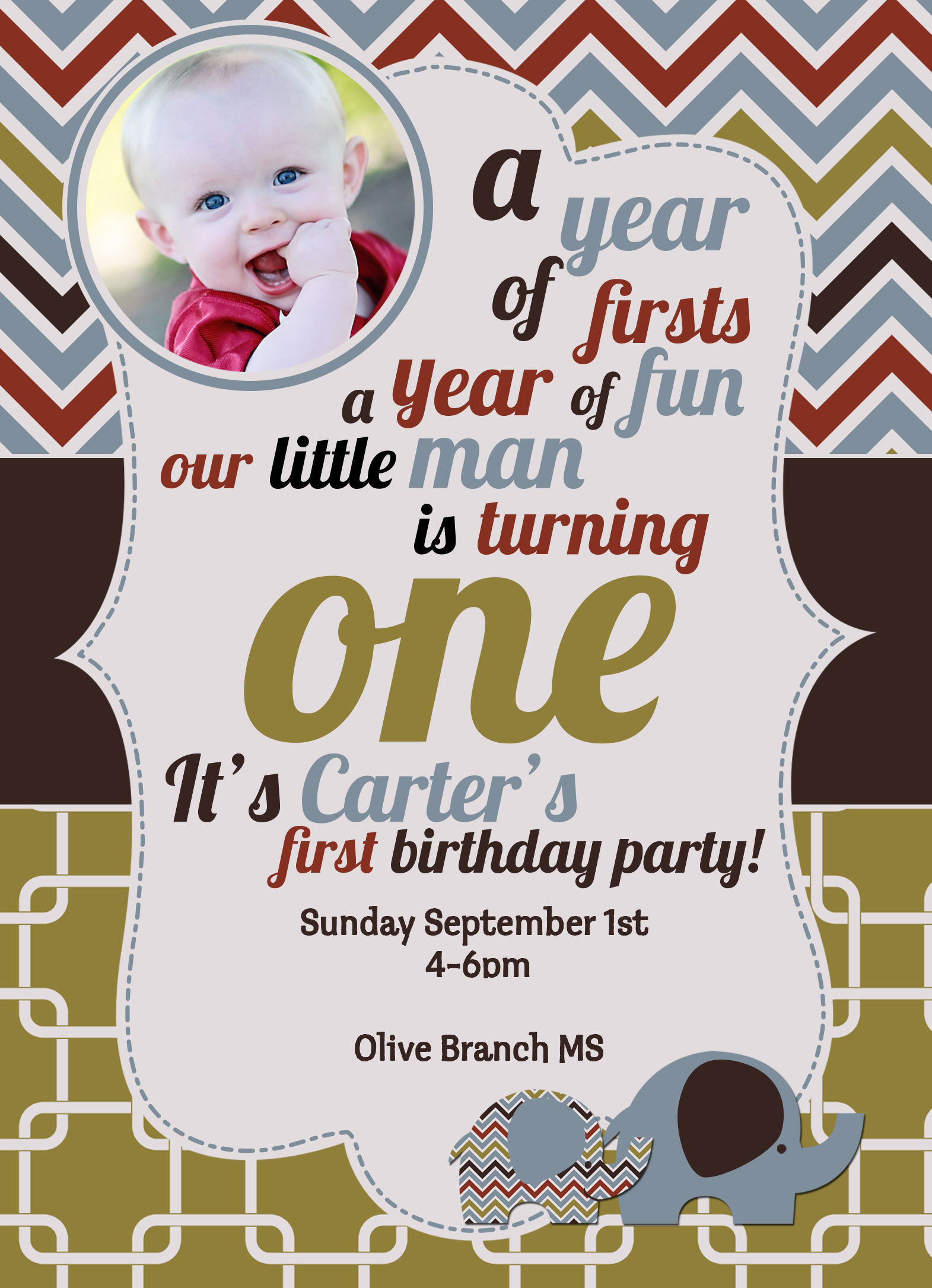 Birthday Invitation for Carter down in Mississippi: By Factory, Digital Agency In Manchester