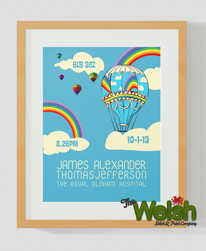 Balloon Birth Print.: By Factory, Digital Agency In Manchester