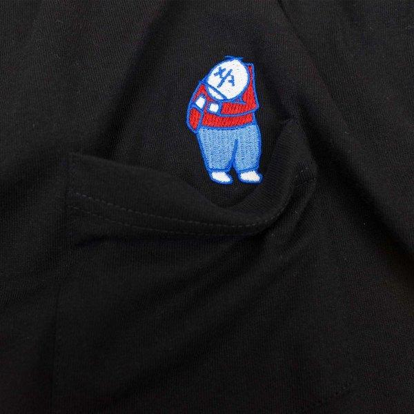 Polar Skate Co. Big Boy Pocket T Shirt - Black