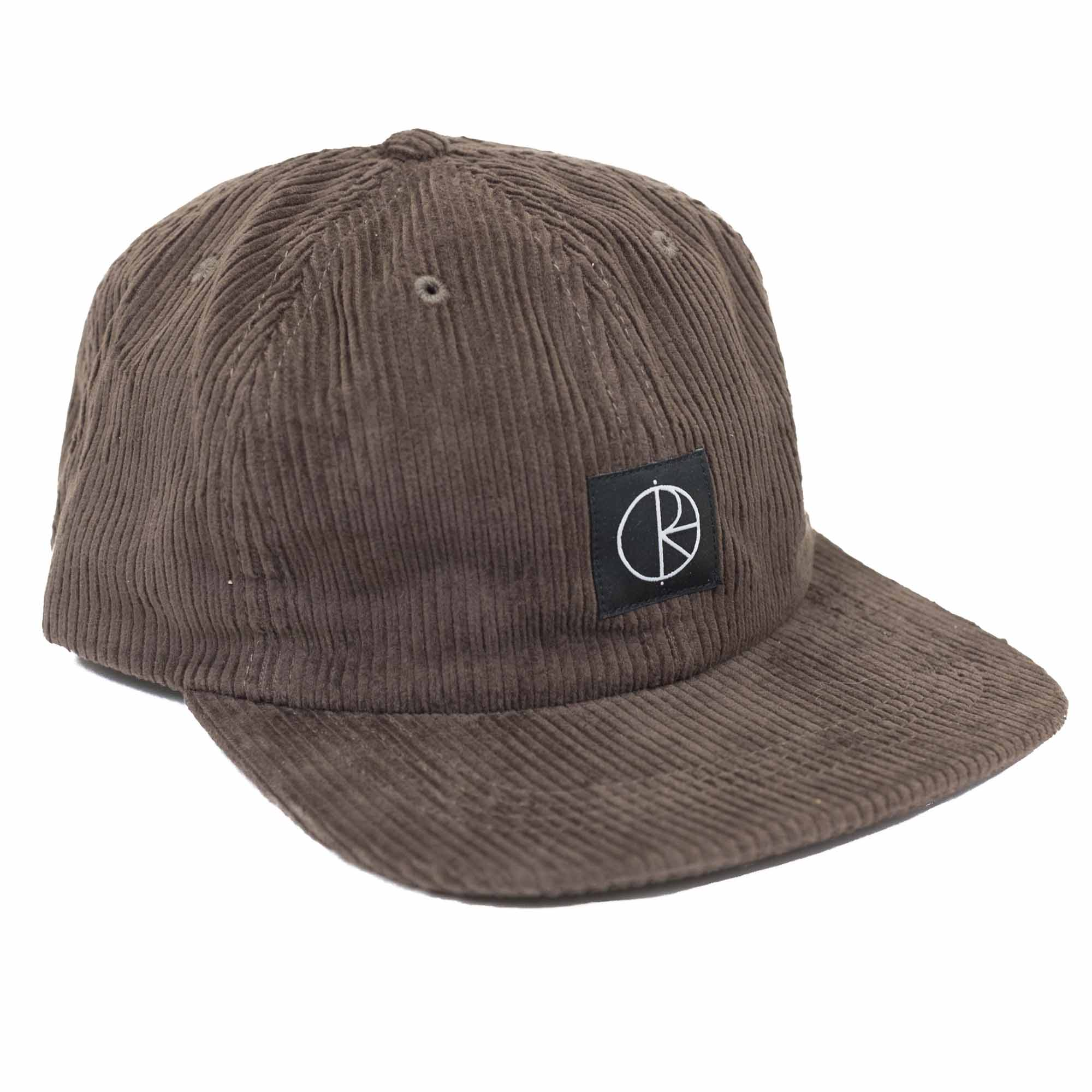 Polar Skate Co. Corduroy Cap - Brown