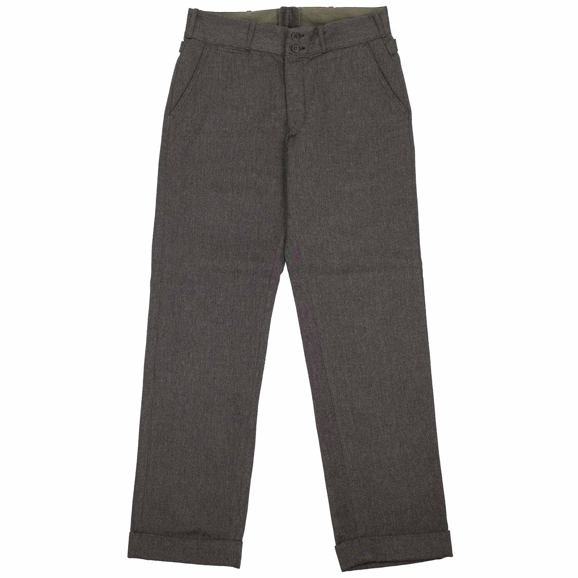 Stevenson Overall Co. Freelander Trousers - Charcoal Heather