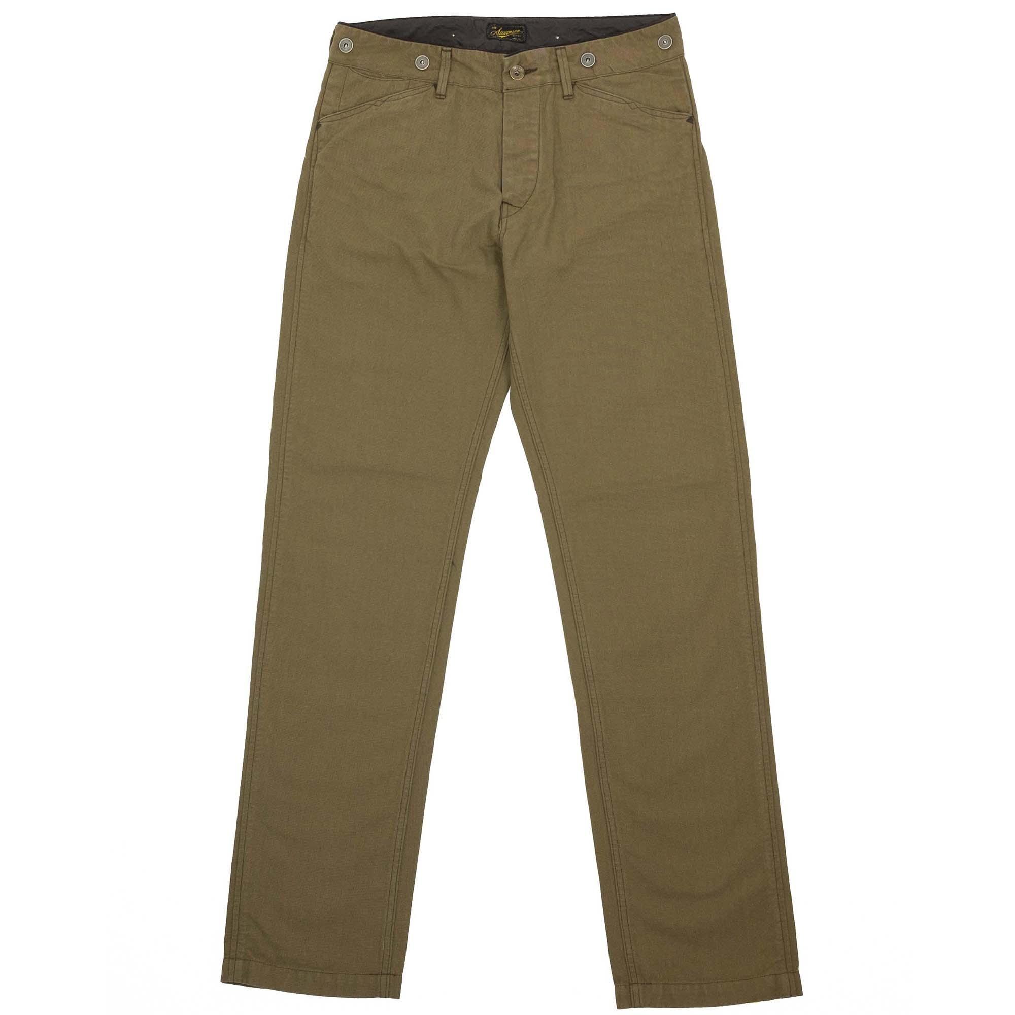 Stevenson Overall Co. Gambler Trousers - Khaki
