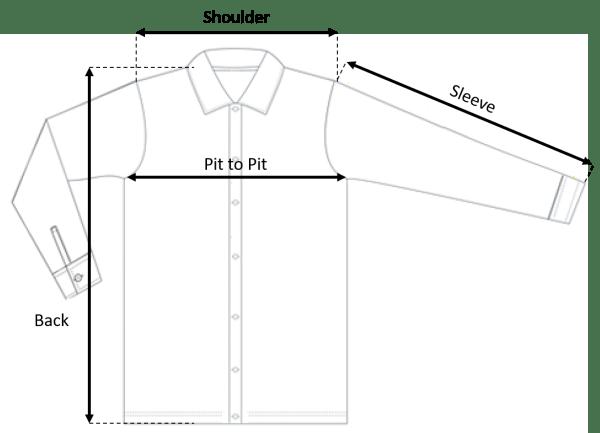 Long Sleeve Size Chart