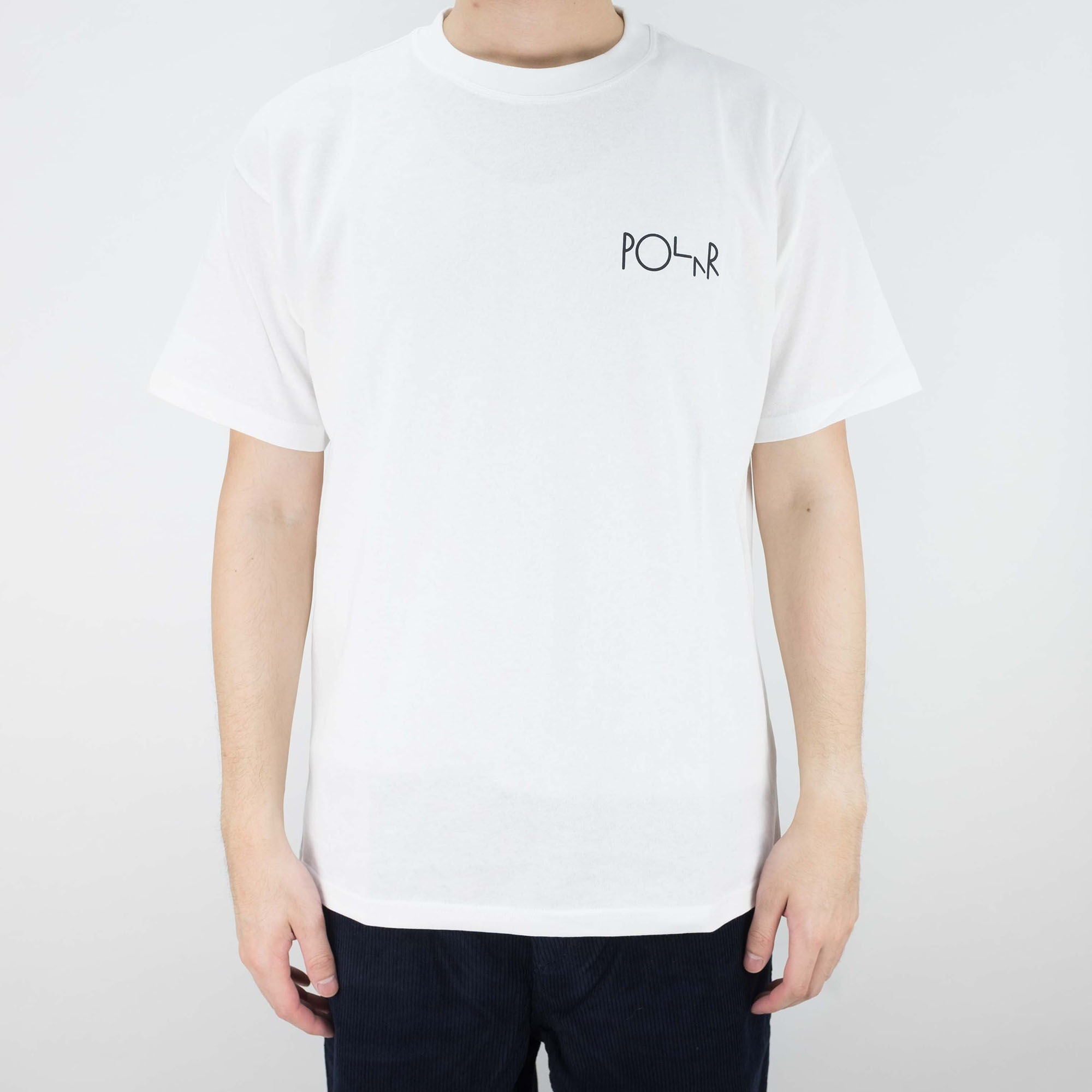 Polar Skate Co. Midnight Snake T Shirt - White