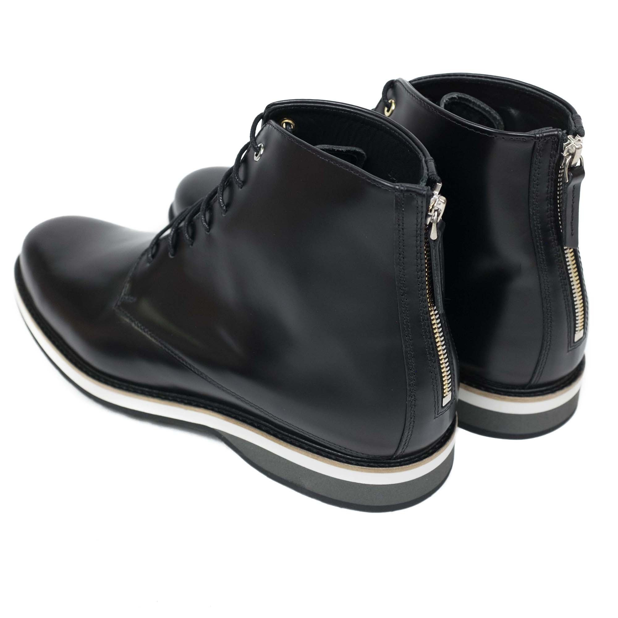 WANT Les Essentiels Montoro High Derby Boot - Black