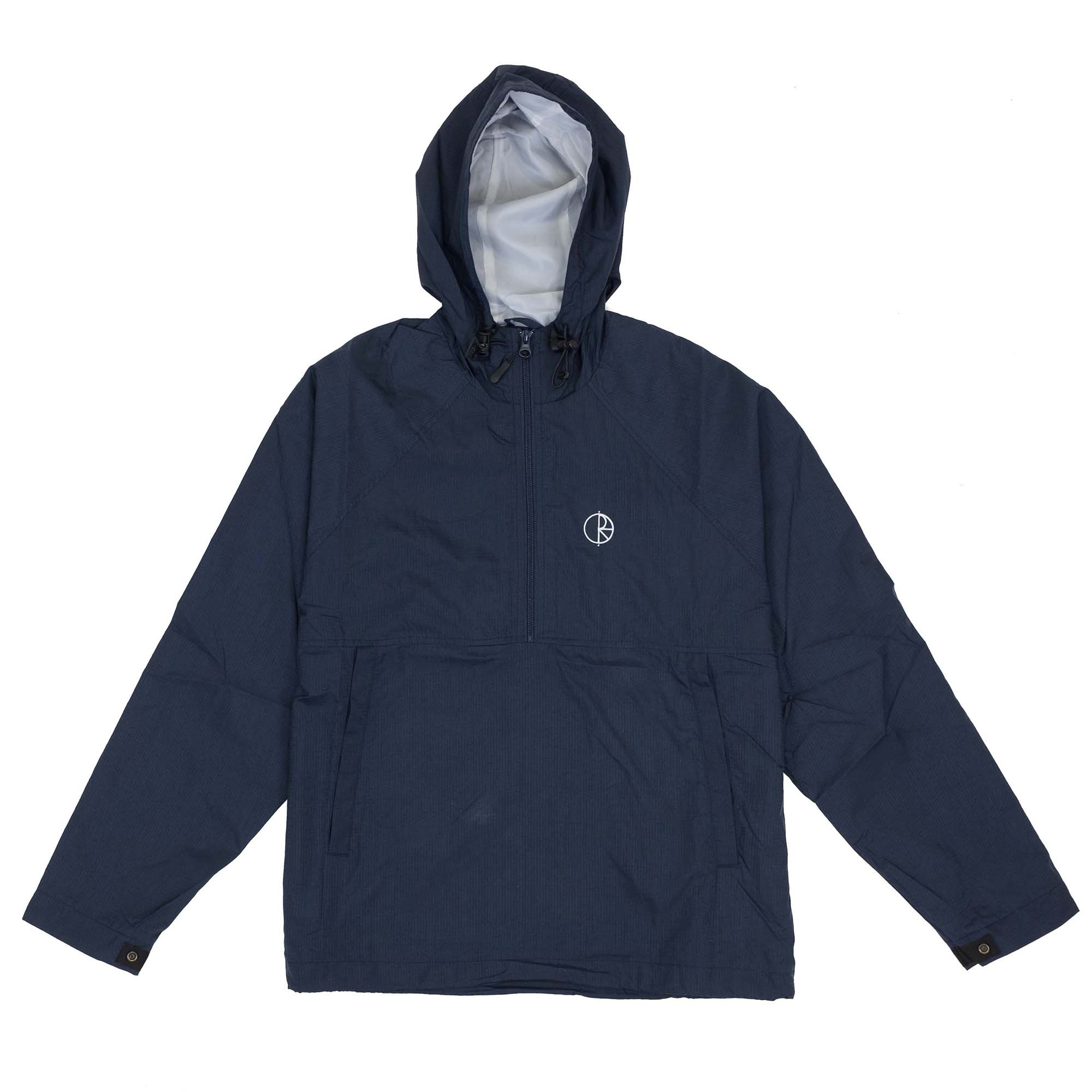 Polar Skate Co. Ripstop Anorak Jacket - Navy