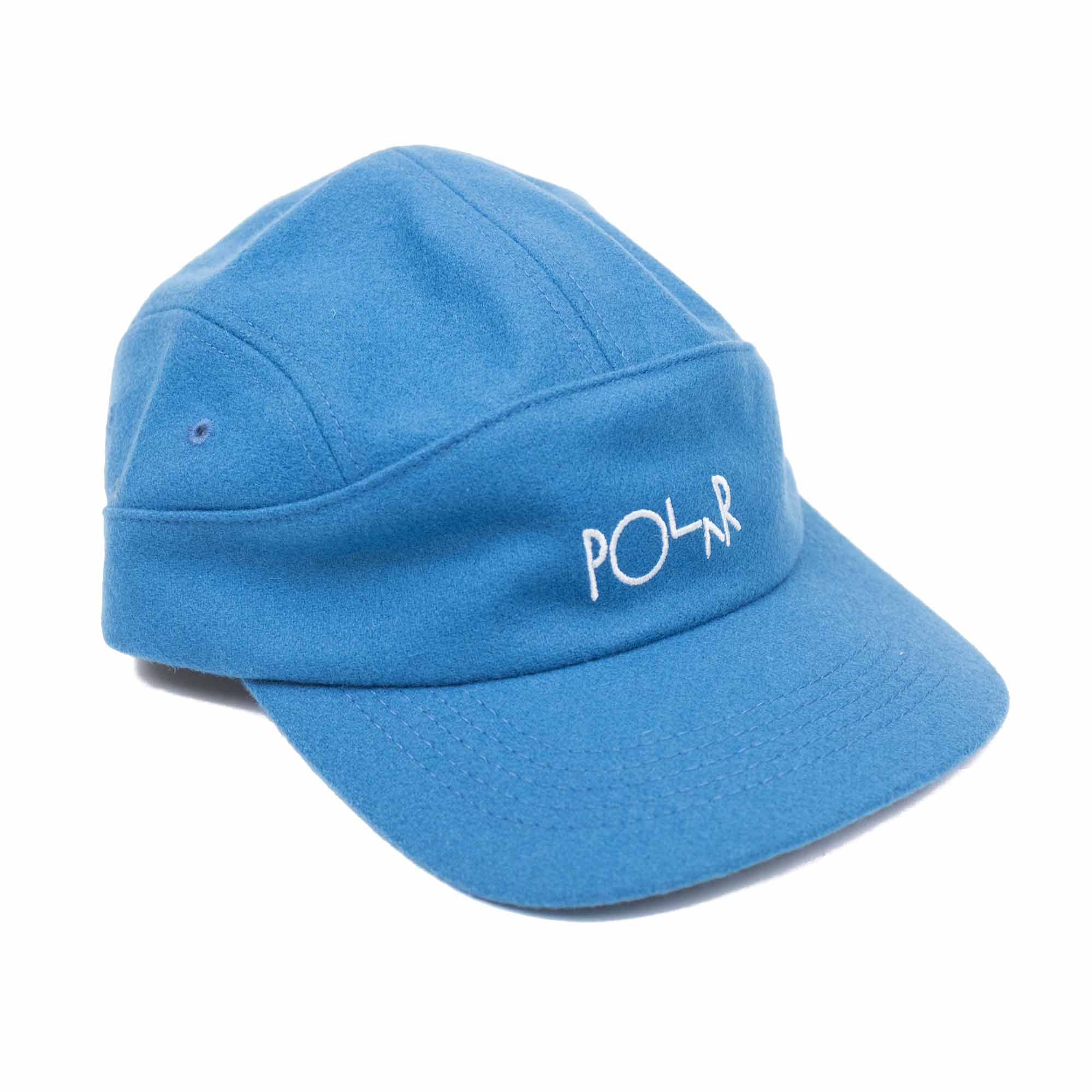 Polar Skate Co. Wool Speed Cap - Mykonos Blue