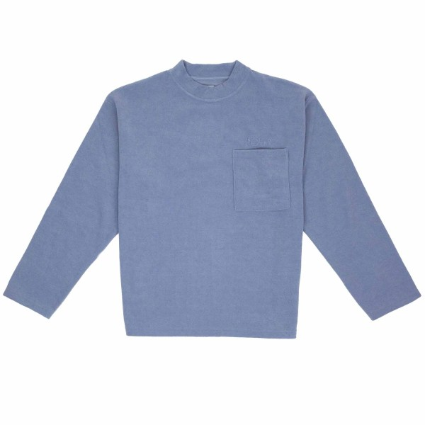 Polar Skate Co. Terry Pullover - Sky Blue