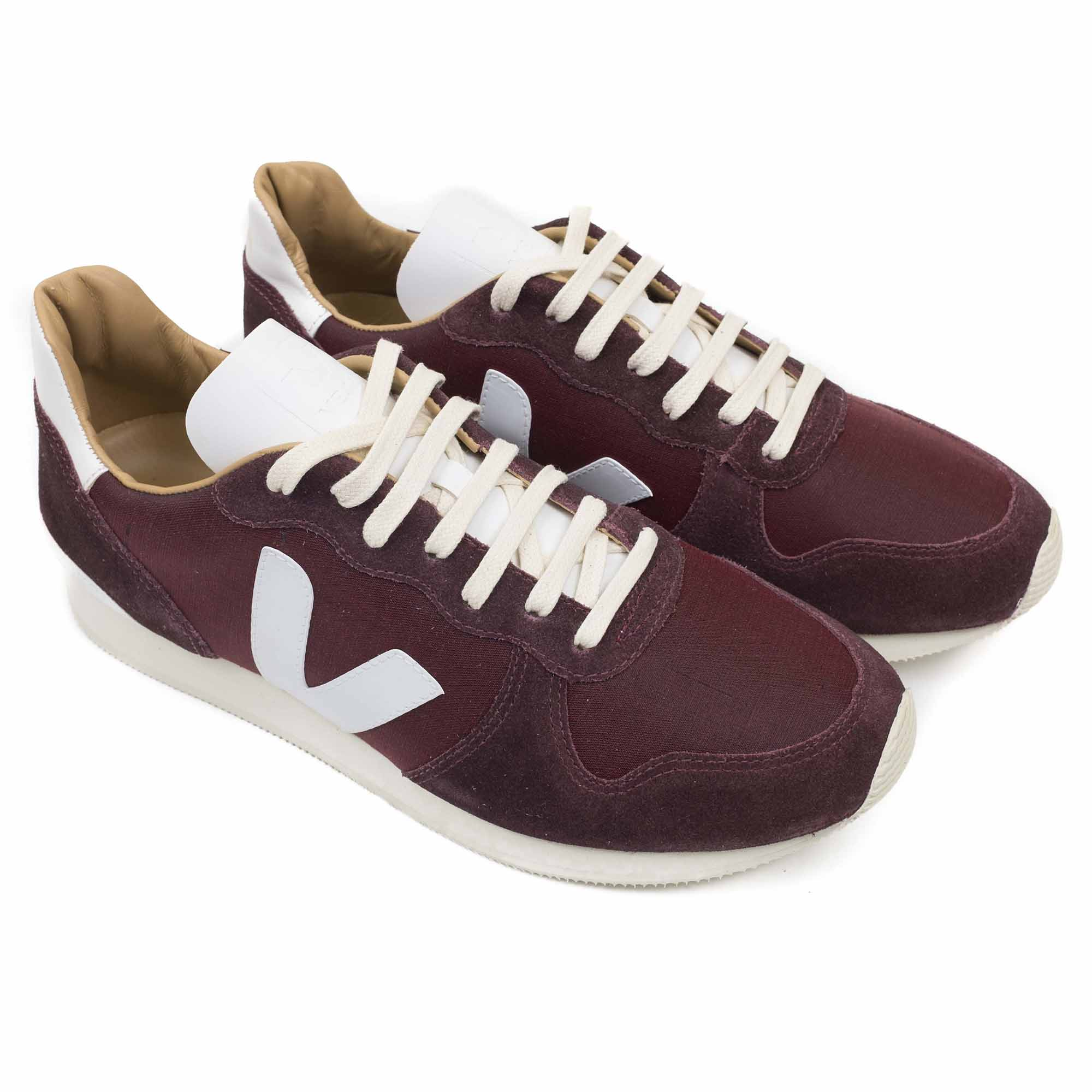 Veja Holiday Bastille Tafta - Burgundy White