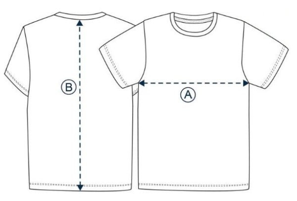 Ethan Tee Size Chart