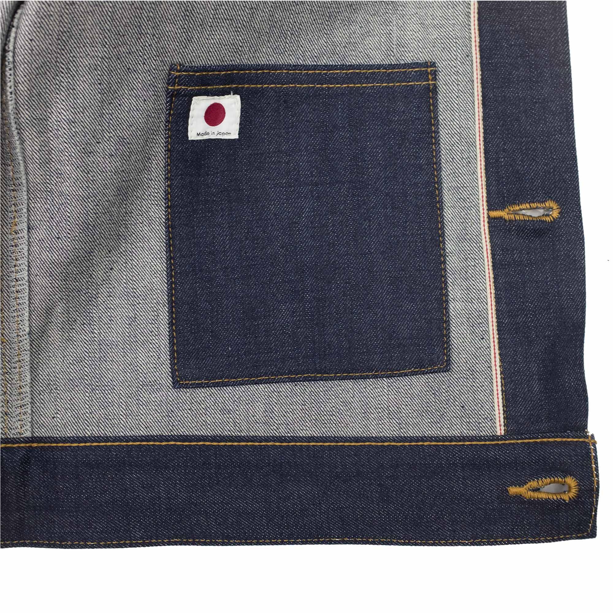 NN07 Hiroki 1807 Denim Jacket - Blue Denim
