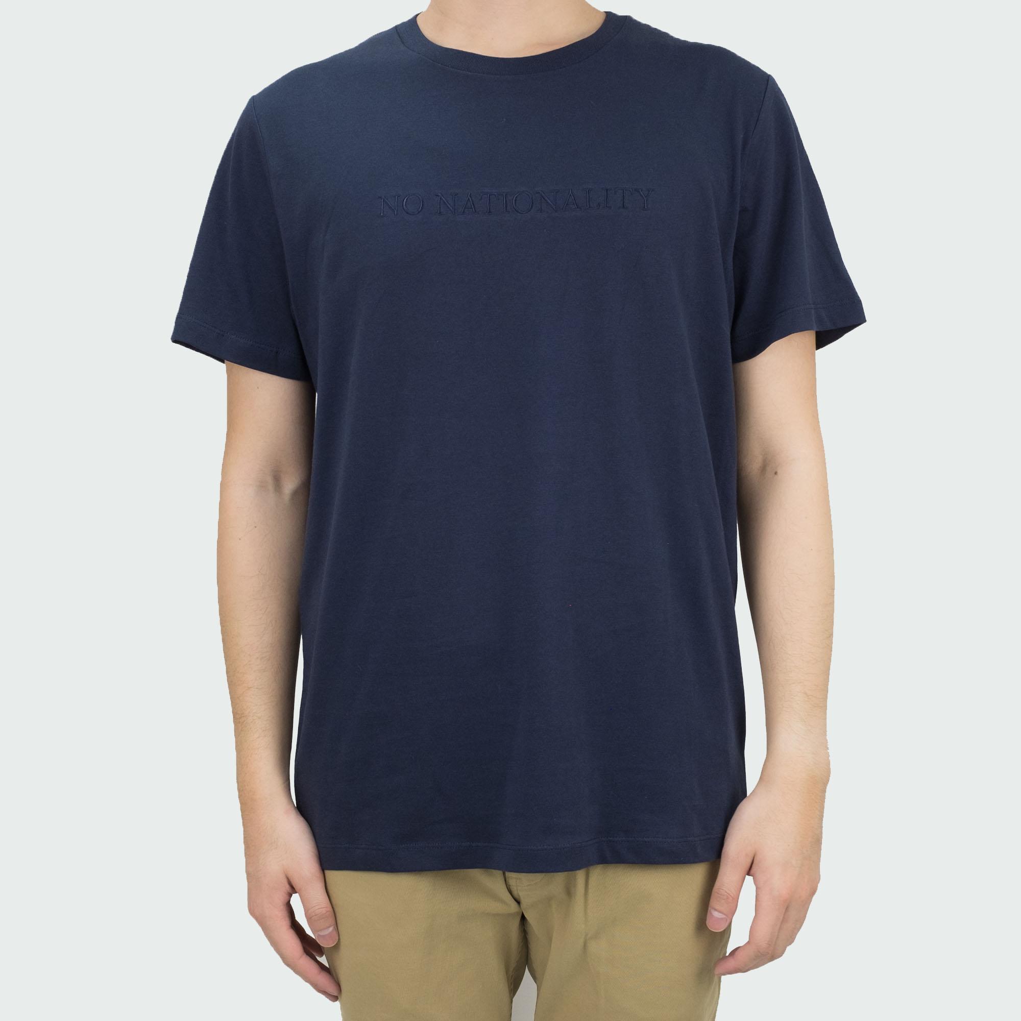 NN07 Michael 3234 Tee - Navy Blue