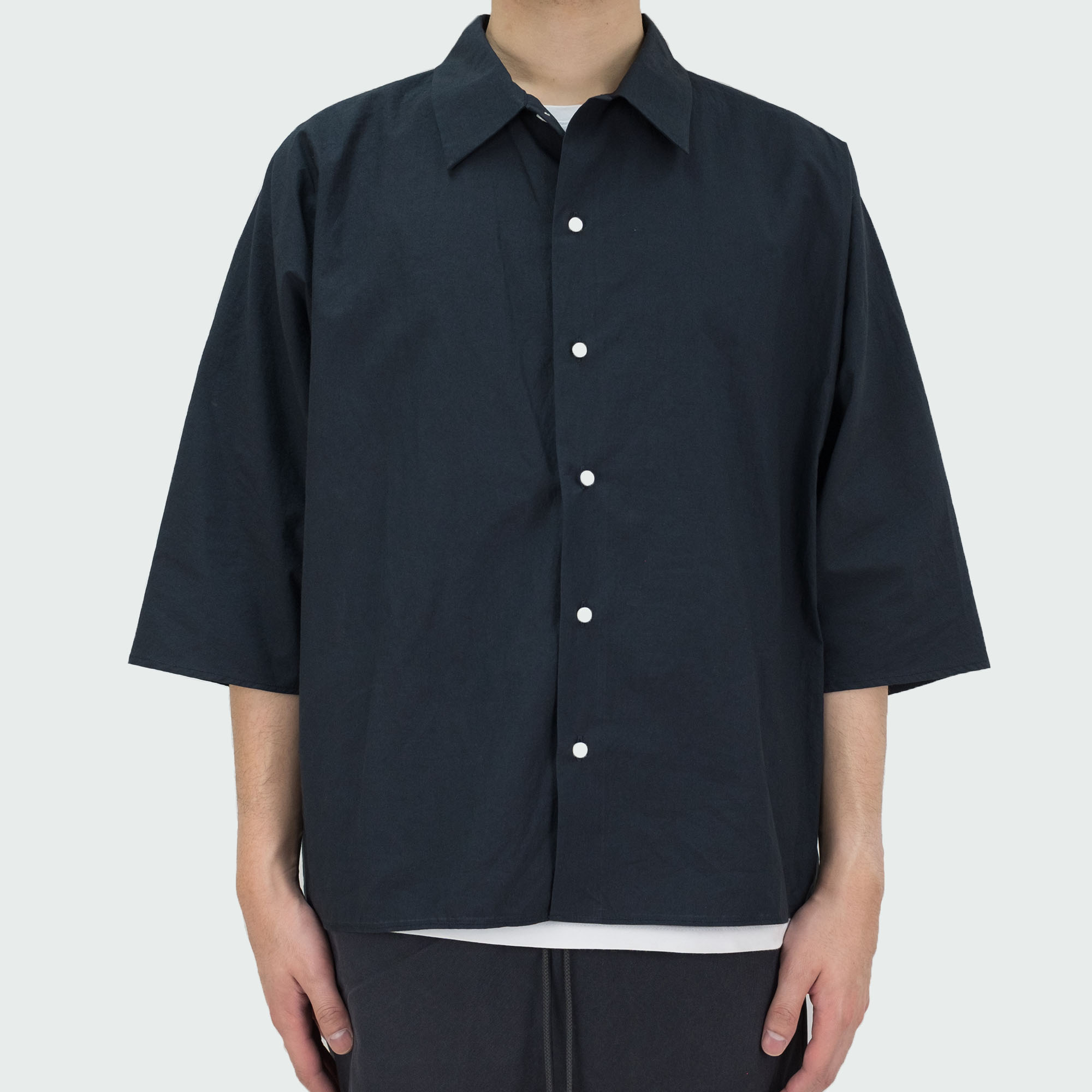 Dolman Sleeve S-S Shirt Black 2