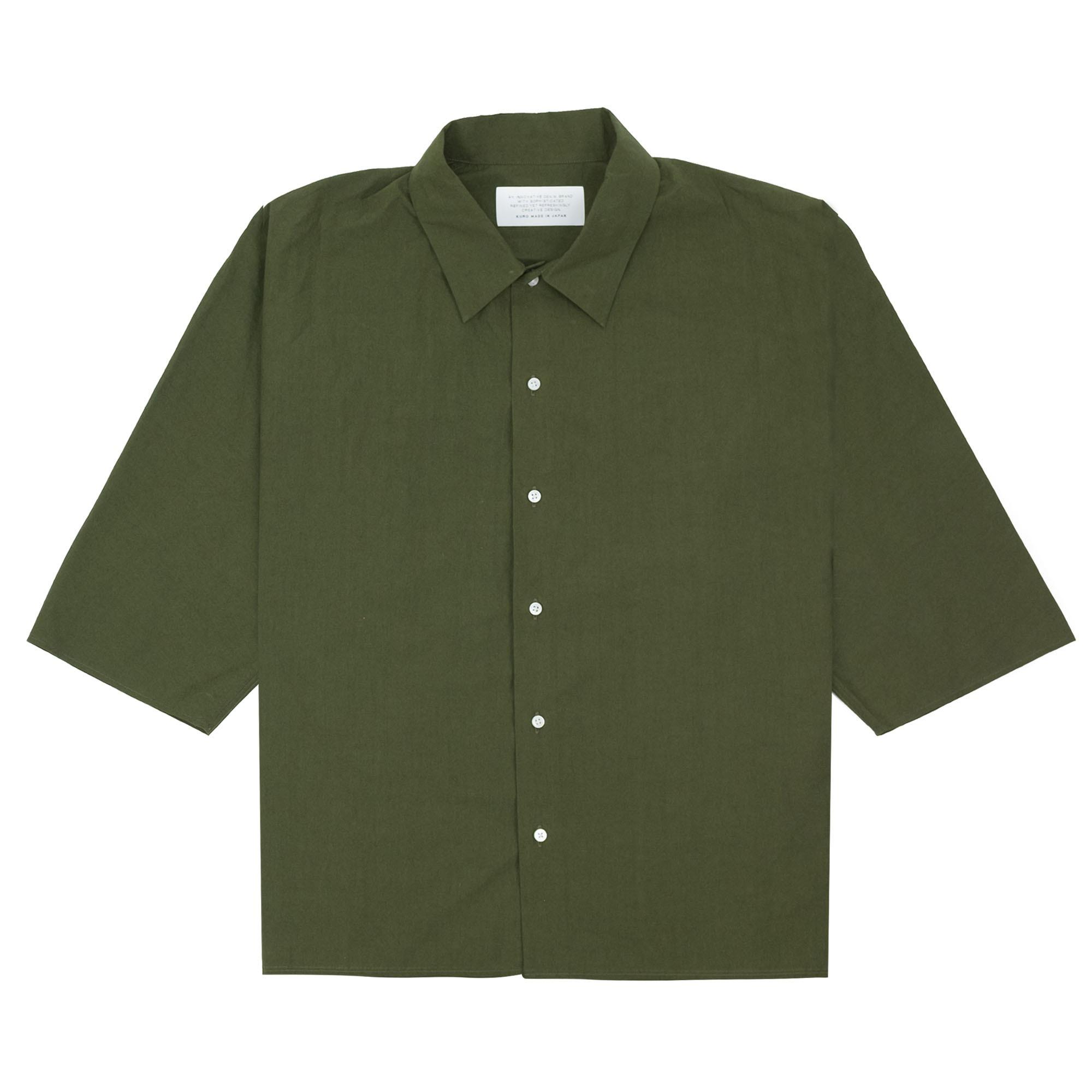 Dolman Sleeve S-S Shirt Khaki 1