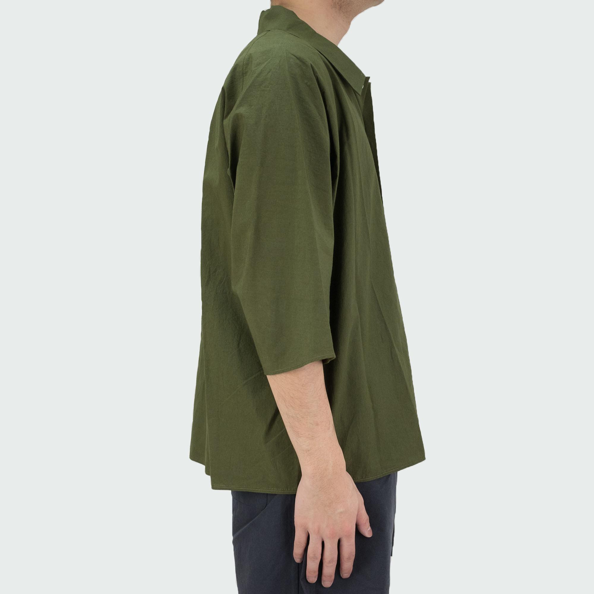 Dolman Sleeve S-S Shirt Khaki 3