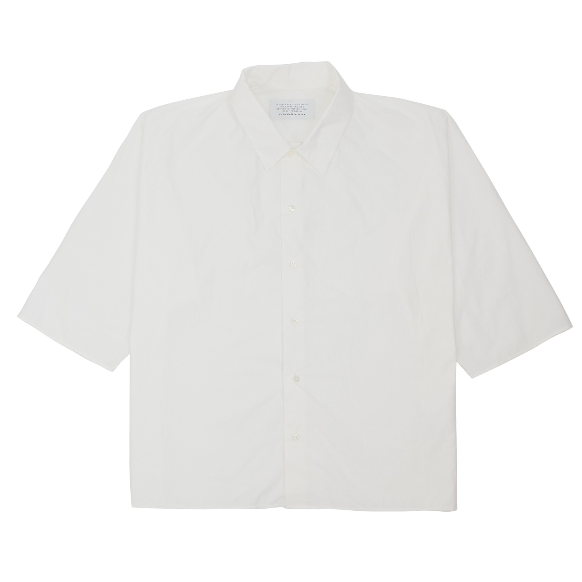 Dolman Sleeve S-S Shirt Off White 1