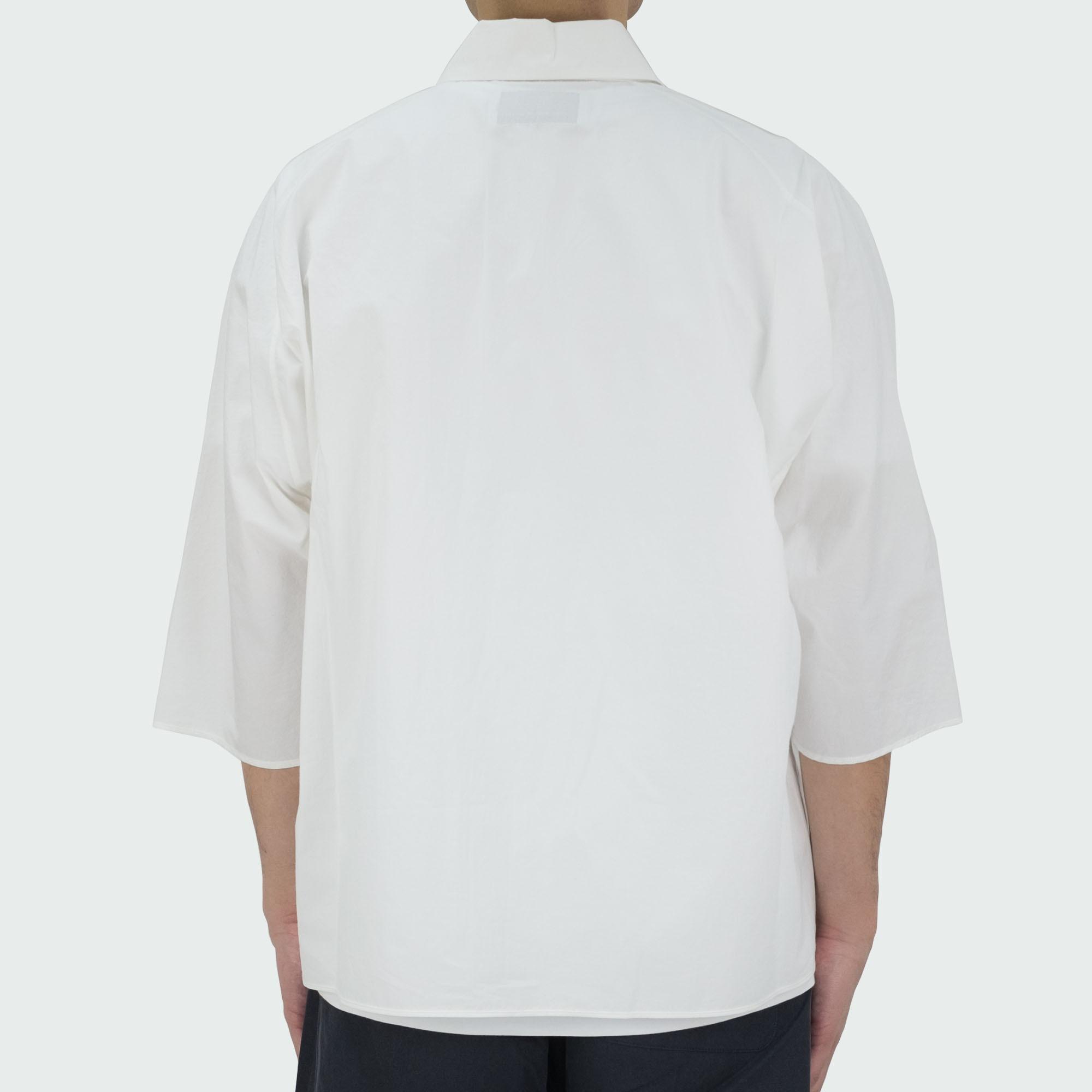 Dolman Sleeve S-S Shirt Off White 4