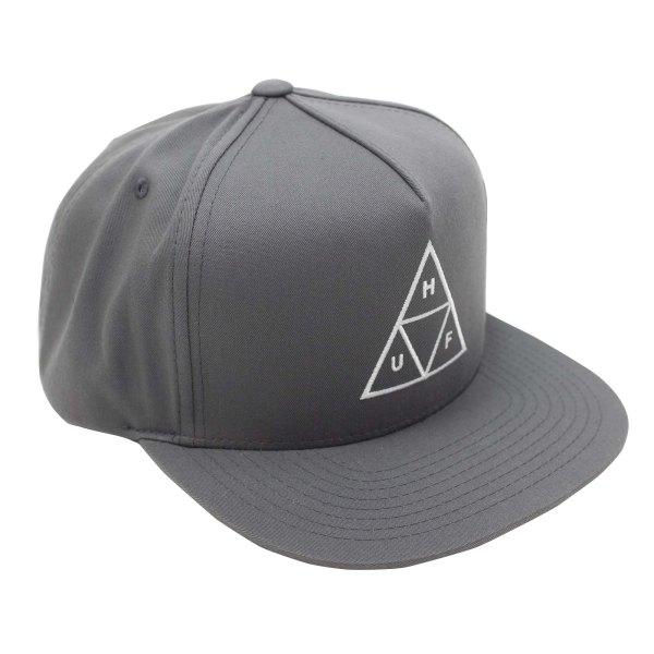 HUF Essentials Tt Snapback Hat - Charcoal