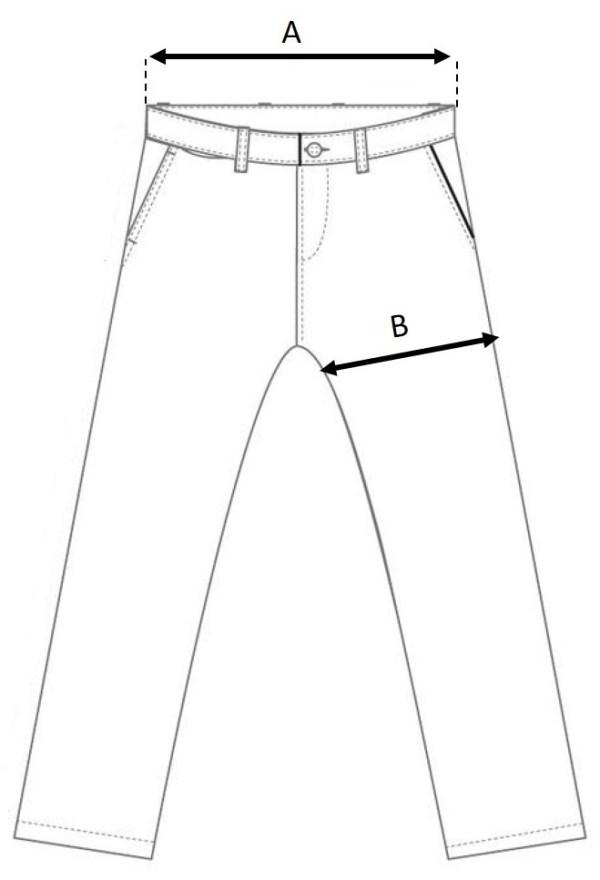KURO Pants Size