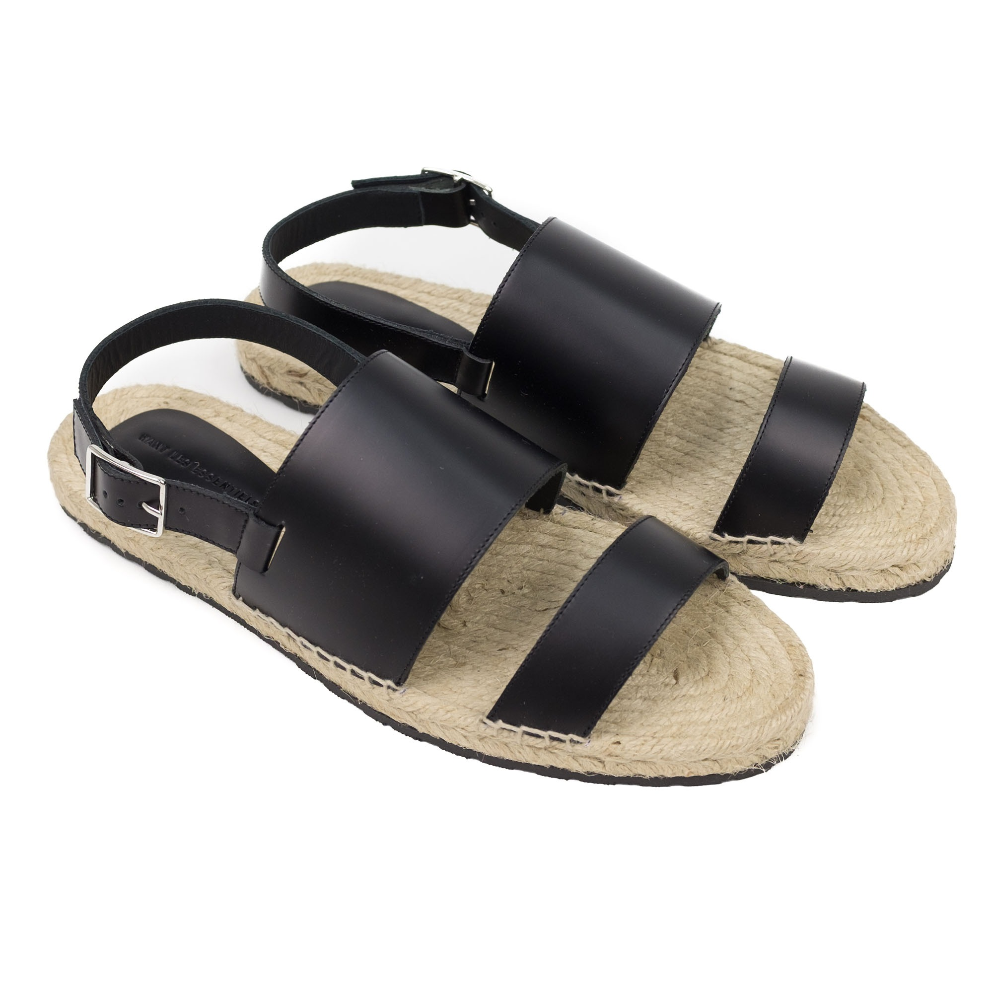 WANT Les Essentiels Moreno Espadrille Sandal - Black/Jute