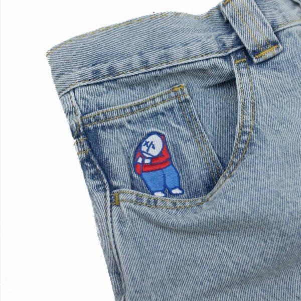 Polar Skate Co. Big Boy Shorts - Light Blue