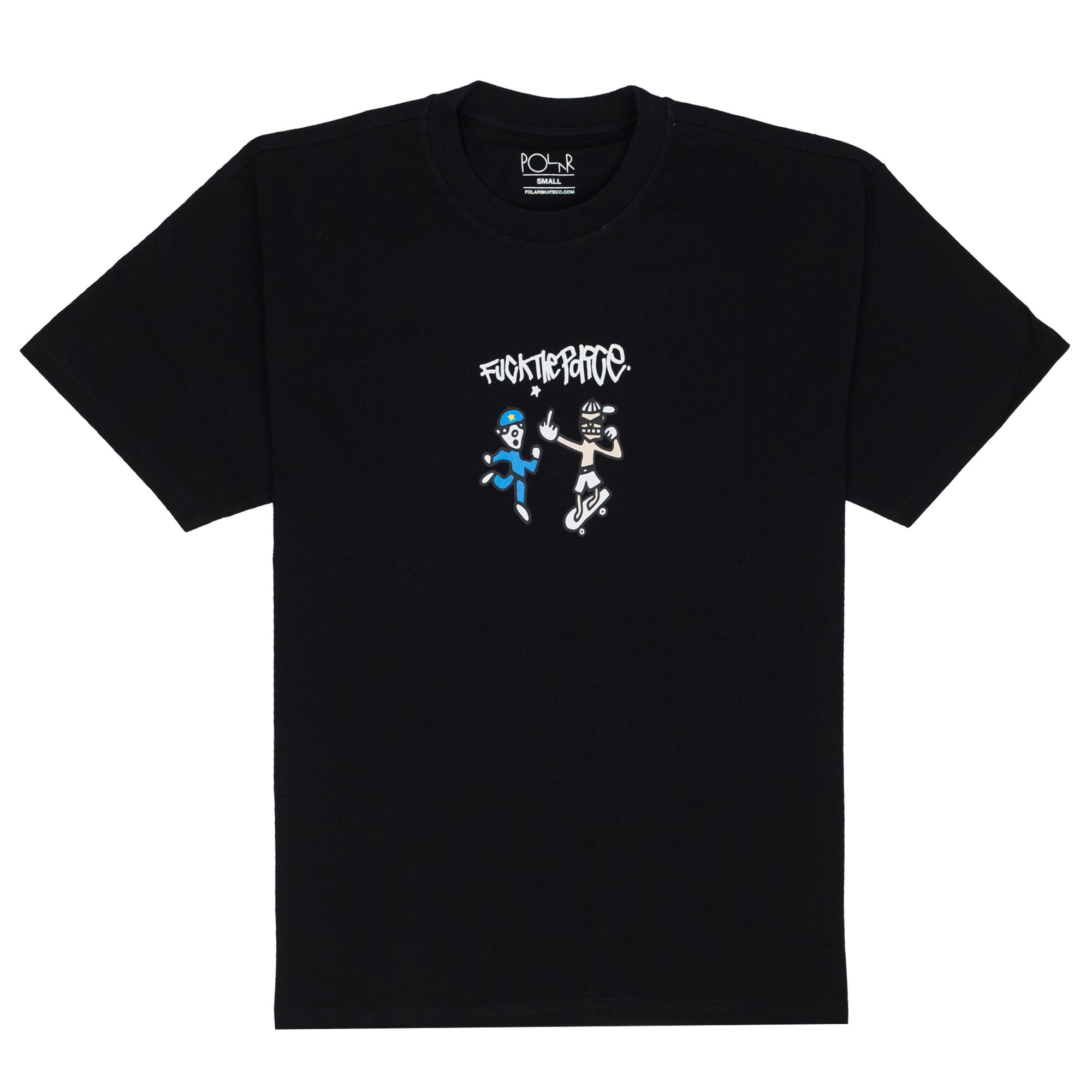 Polar Skate Co. FTP Tee - Black
