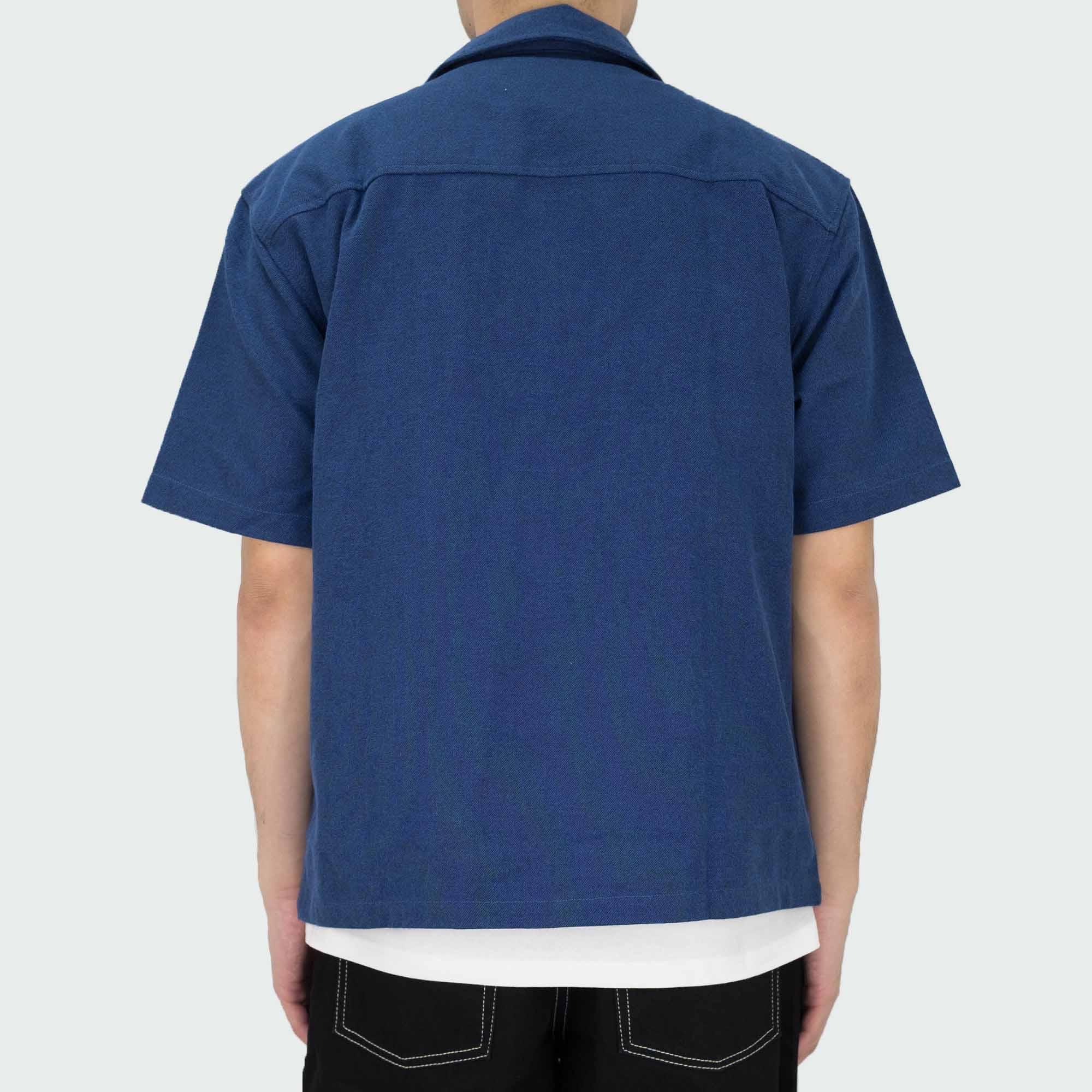 Polar Skate Co. Work Shirt - Blue