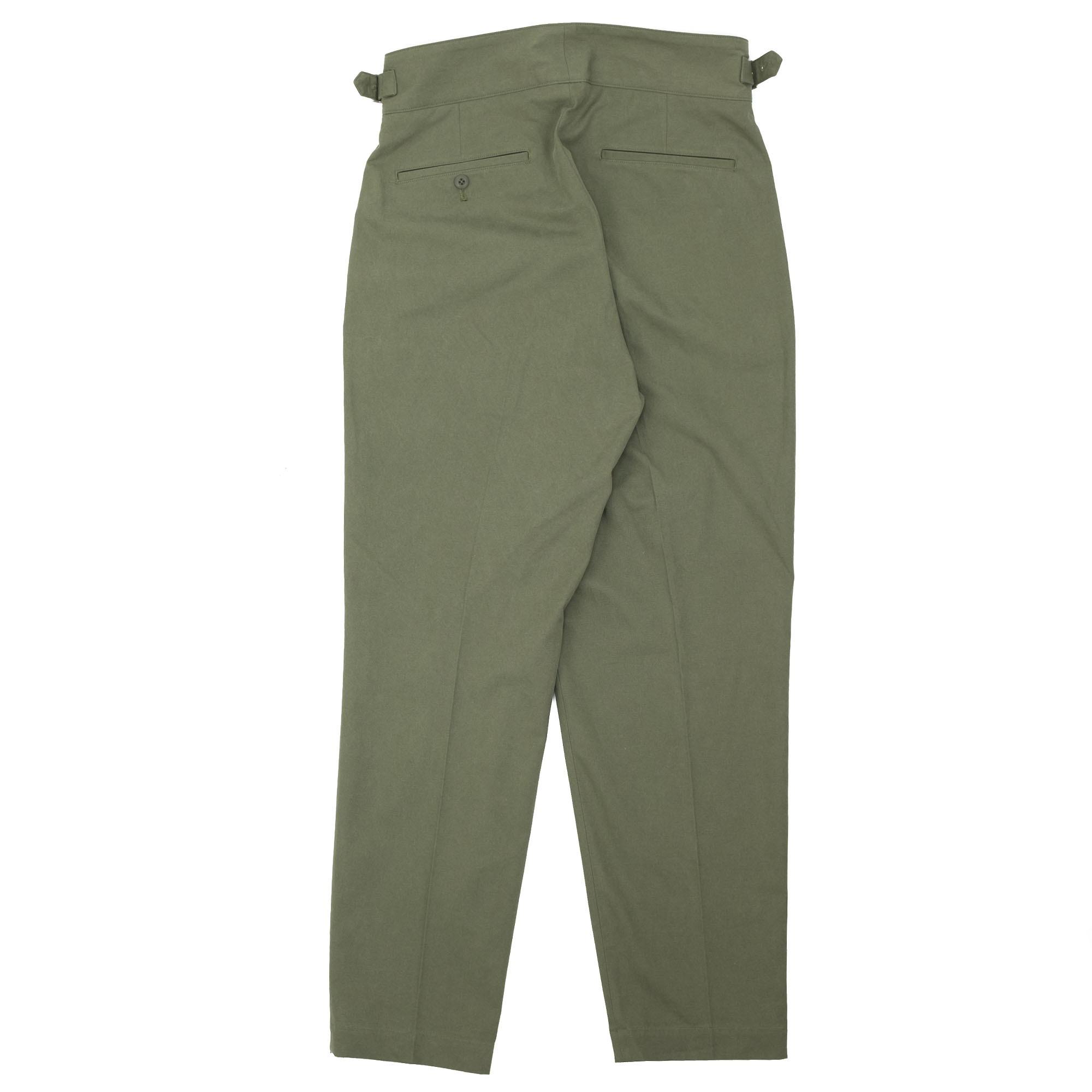 Sulfur Dyed NIDOM Gurkha Pants Khaki 11