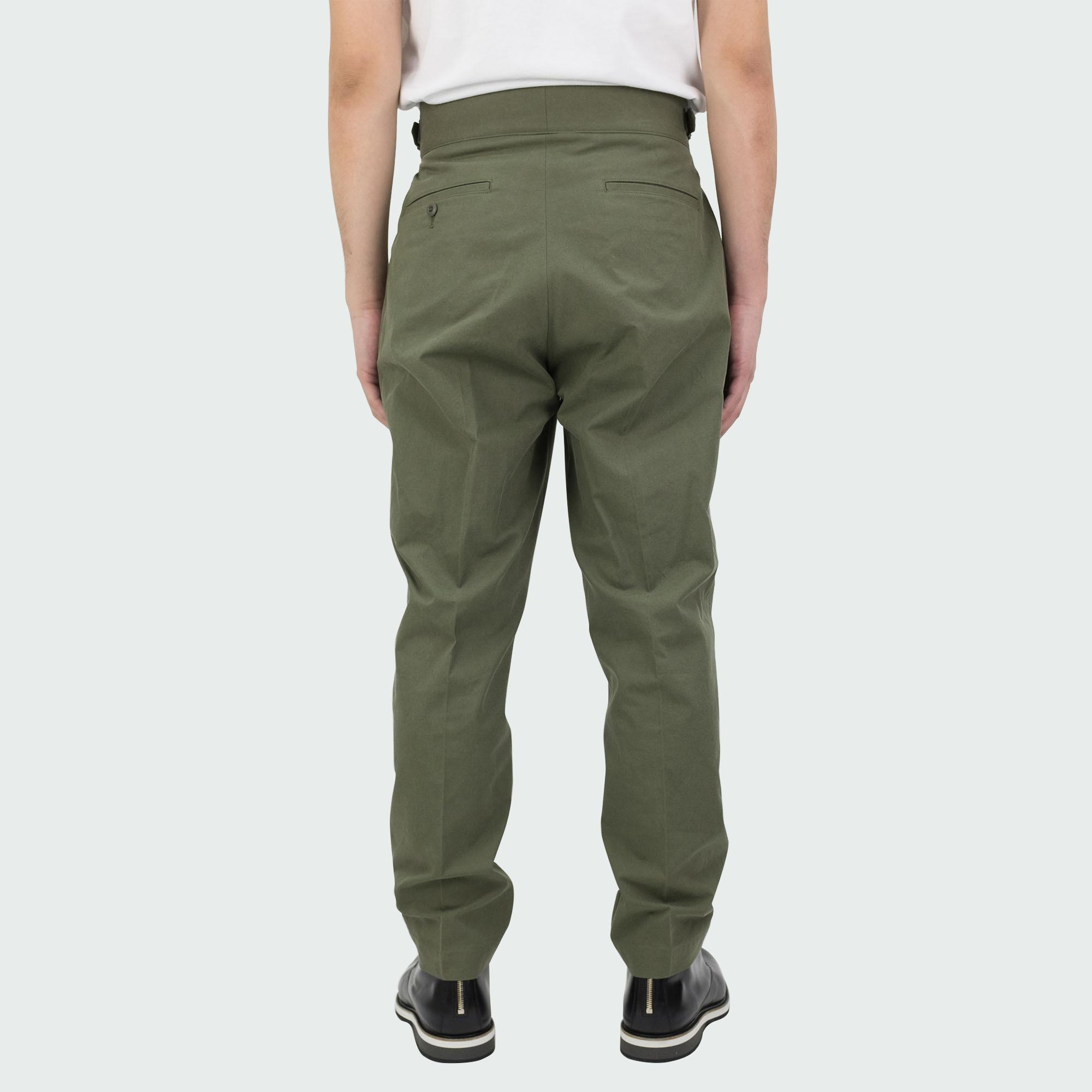 Sulfur Dyed NIDOM Gurkha Pants Khaki 4