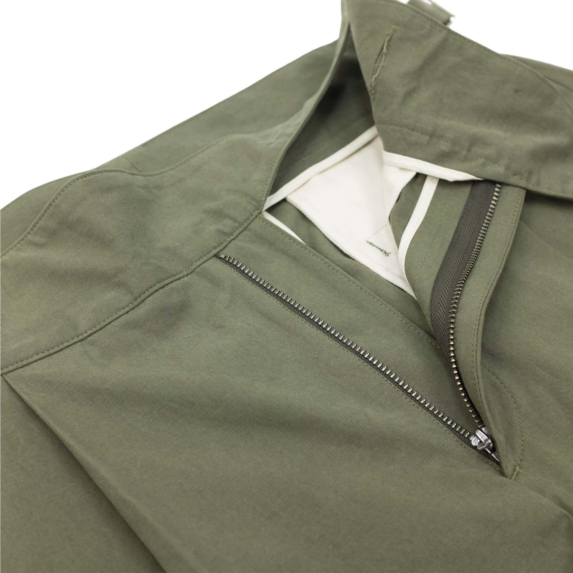 Kuro Sulfur Dyed NIDOM Gurkha Pants - Khaki