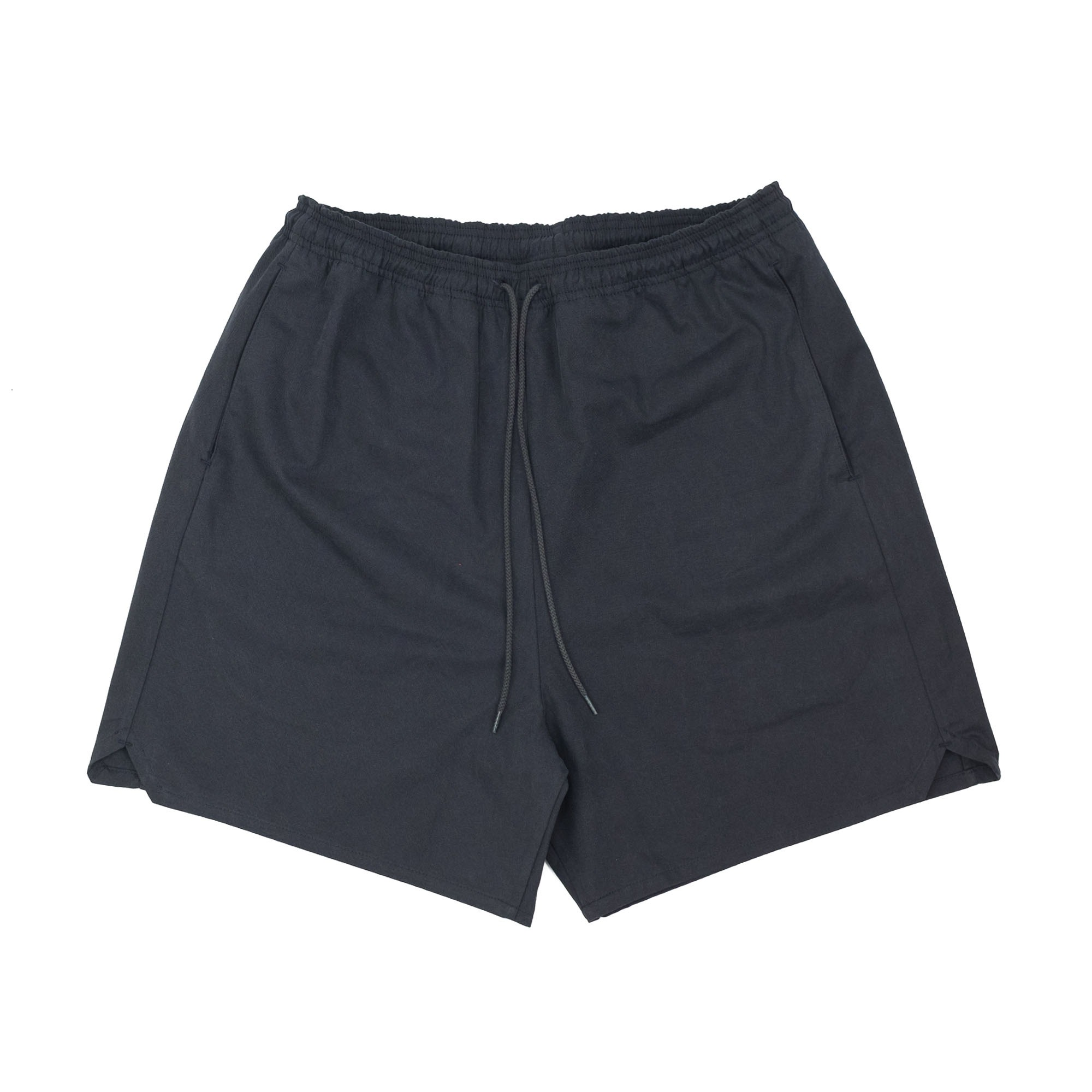 Kuro Sulfur Dyed NIDOM Training Shorts - Black