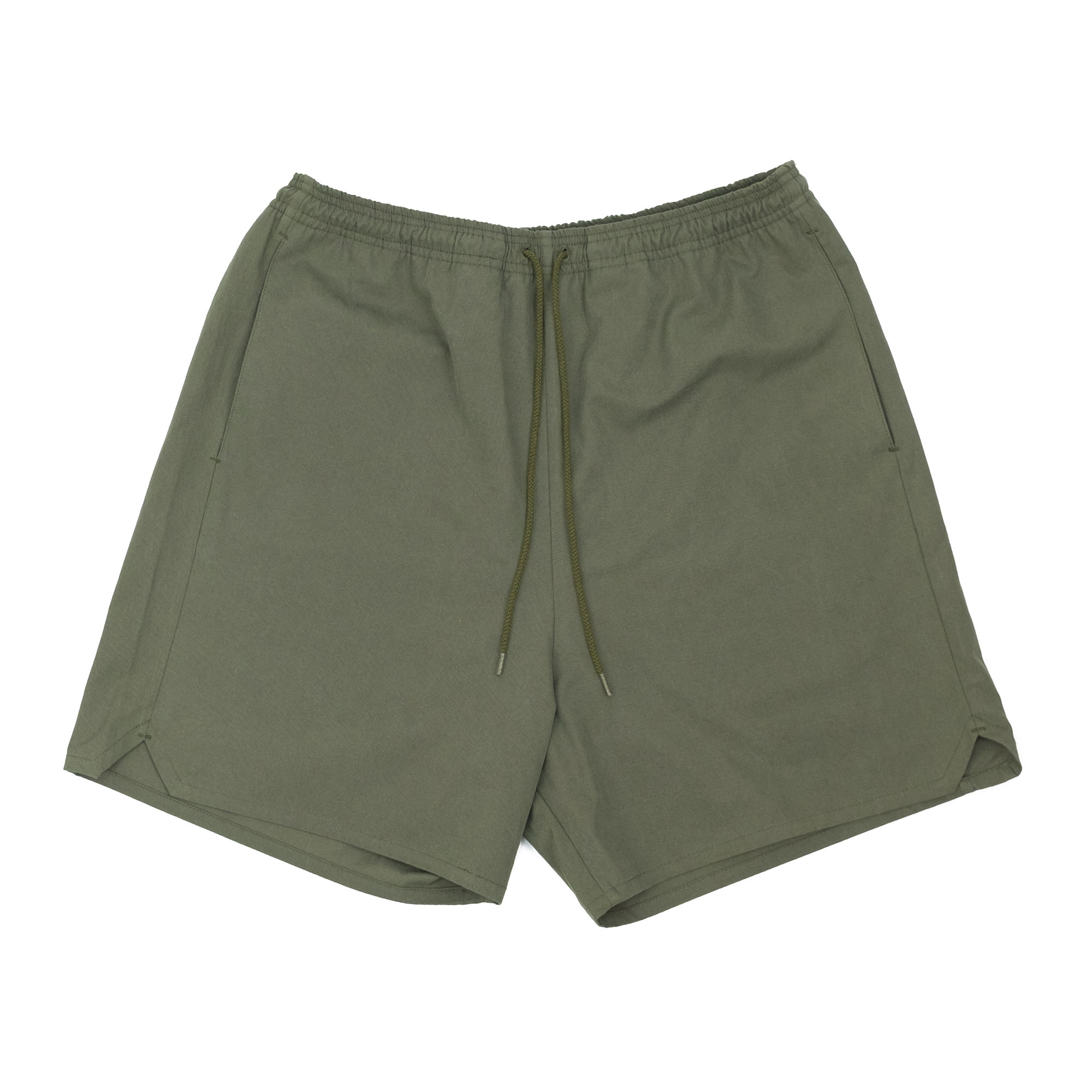 Kuro Sulfur Dyed NIDOM Training Shorts - Khaki