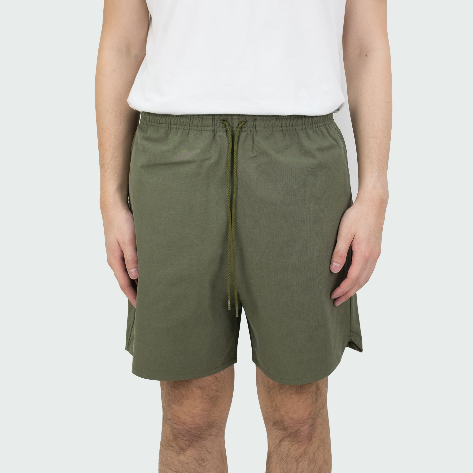 Sulfur Dyed Nidom Training Shorts Khaki 2