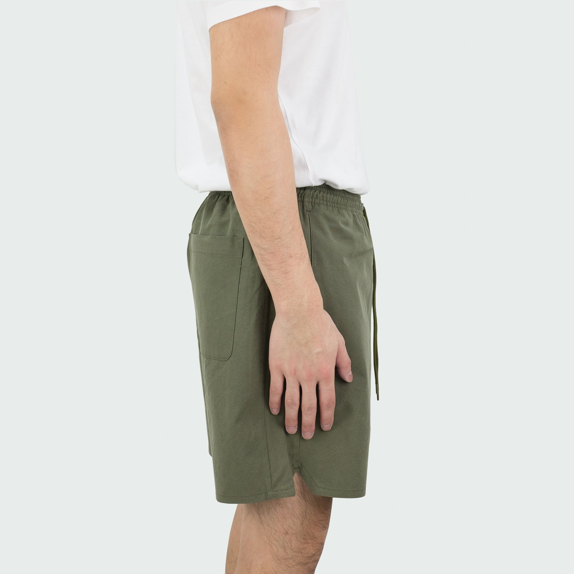 Sulfur Dyed Nidom Training Shorts Khaki 3
