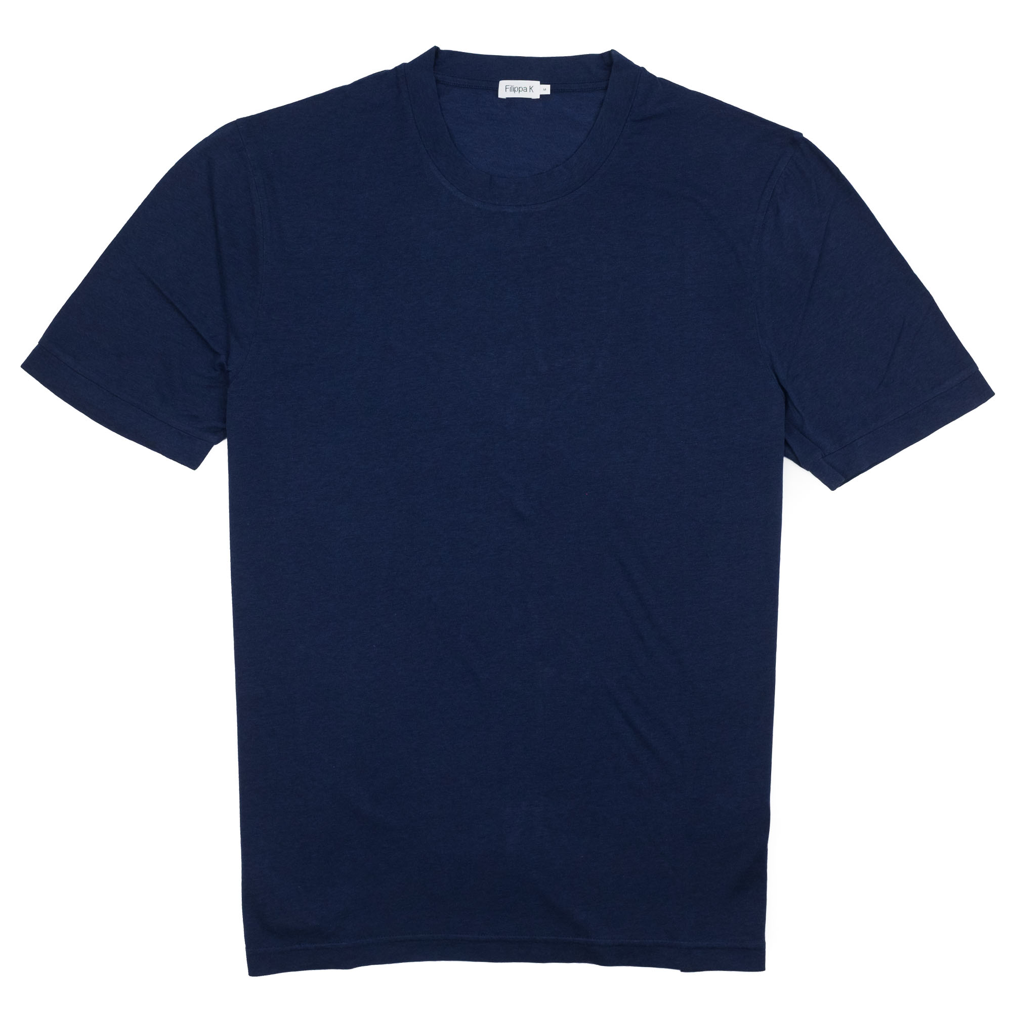 Filippa K Tencel Cotton Tee - Deepwater