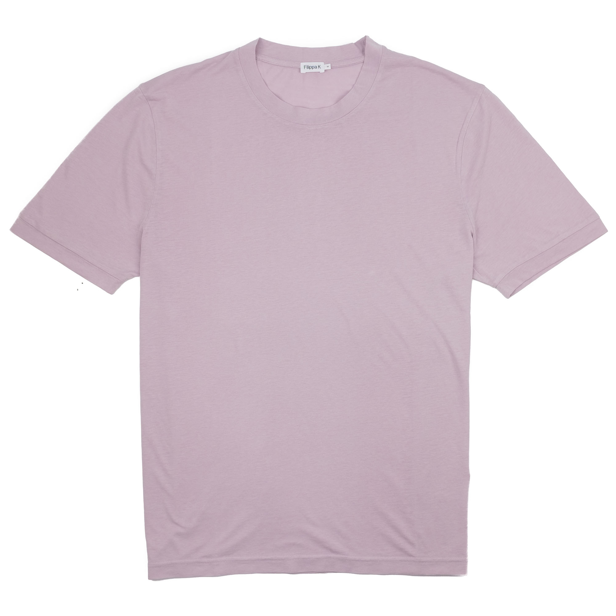 Filippa K Tencel Cotton Tee - Frosty Pink