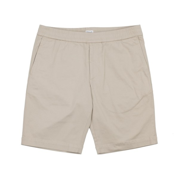 Filippa K Terry Cotton Twill Shorts - Khaki