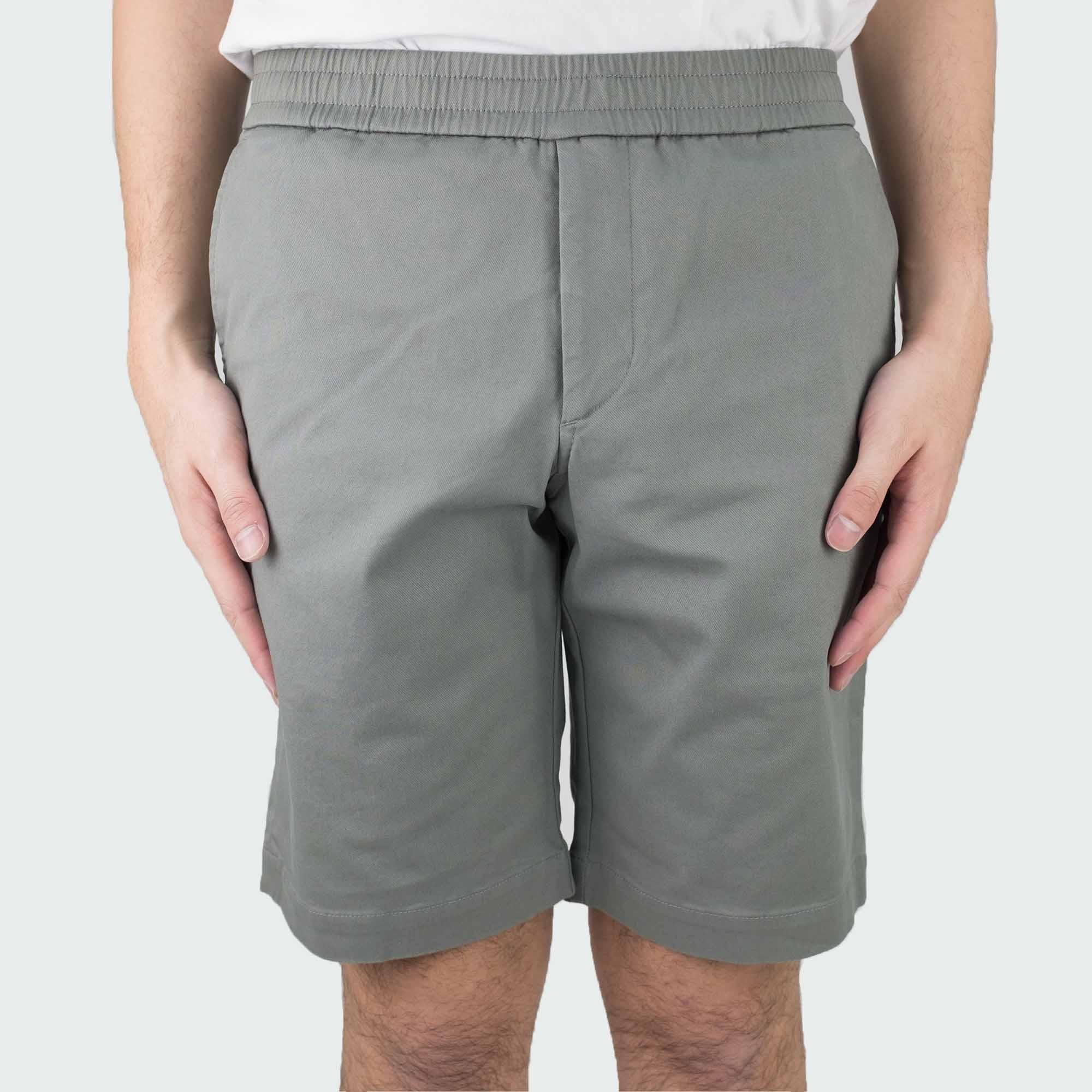 Filippa K Terry Cotton Twill Shorts - Platoon