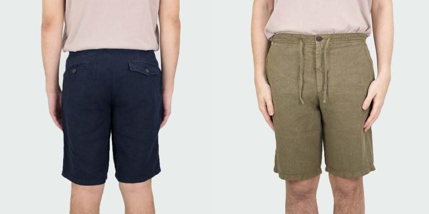 NN07 Linen Shorts