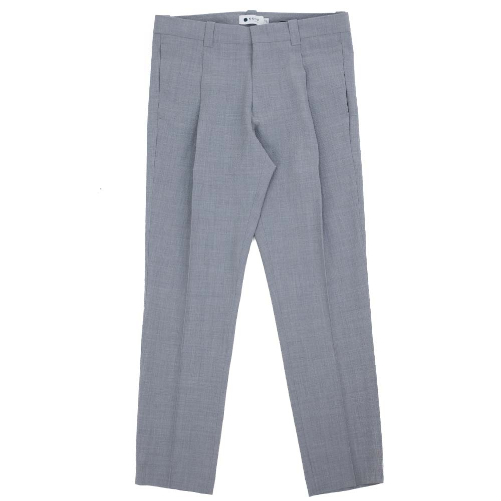 NN07 Diego 1352 Wool-Polyester Pants - Grey Mel.
