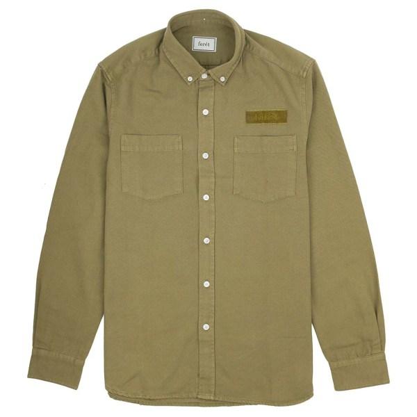 forét Bear Shirt - Olive