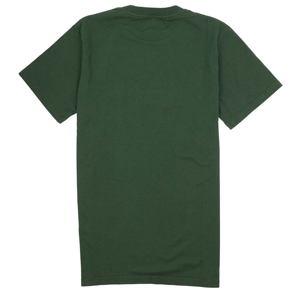 forét Log T Shirt - Dark Green - Copper