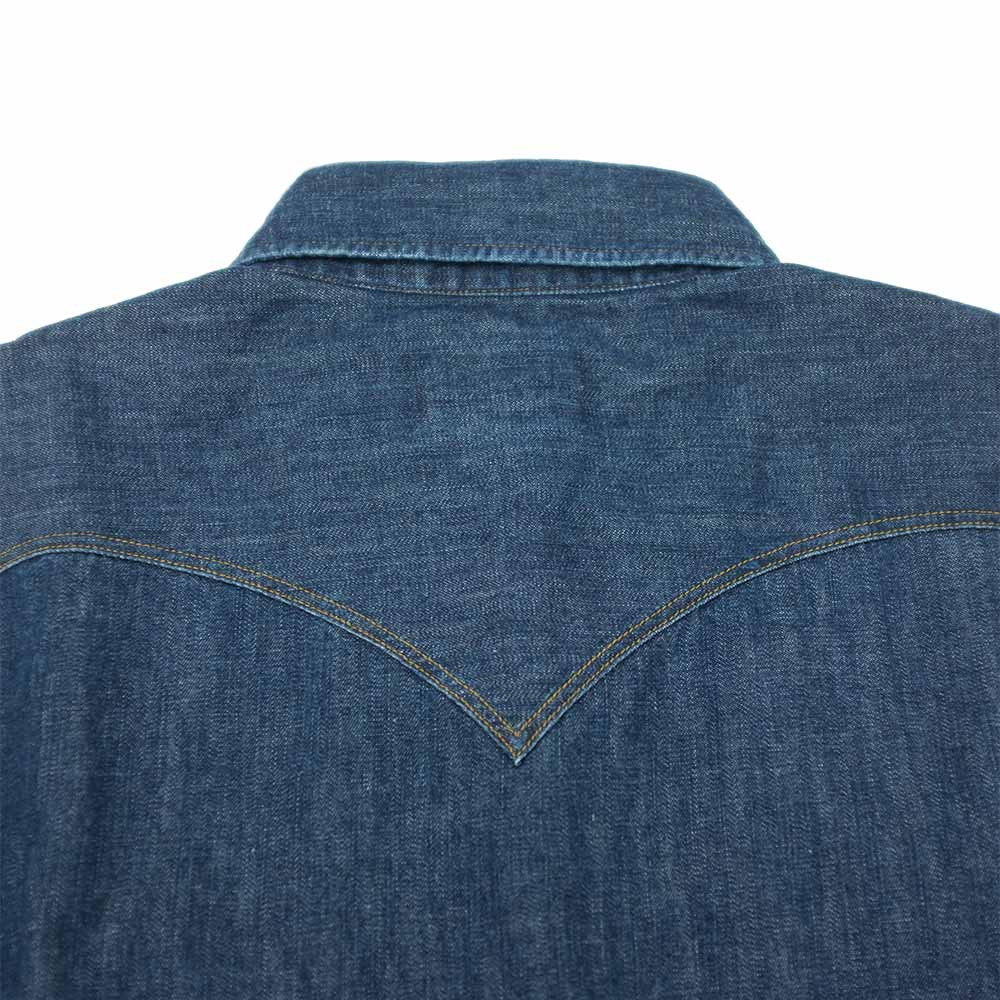 Stevenson Overall Co. Cody Shirt - Faded Indigo 7