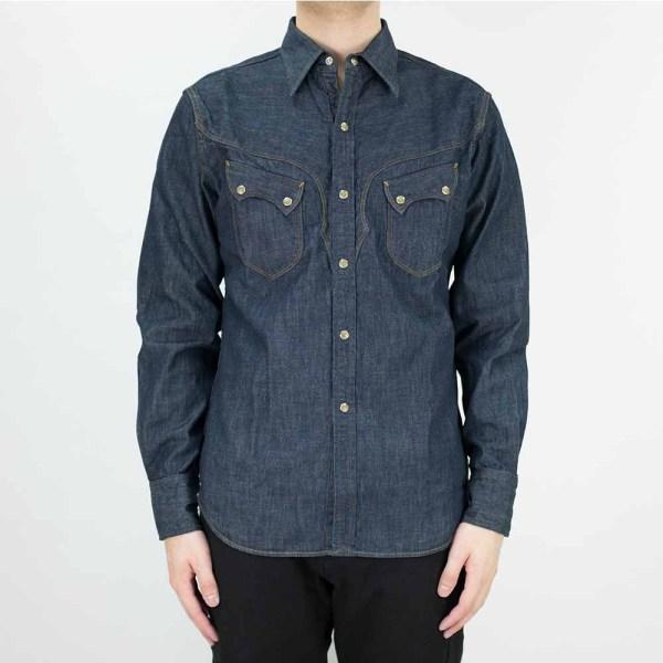 Stevenson Overall Co. Cody Shirt - Indigo 2