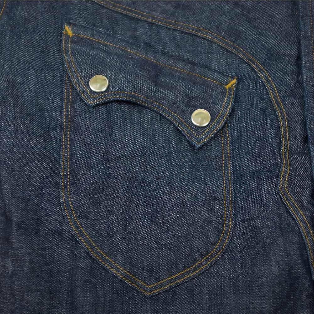 Stevenson Overall Co. Cody Shirt - Indigo 4