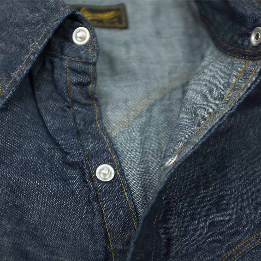 Stevenson Overall Co. Cody Shirt - Indigo 5