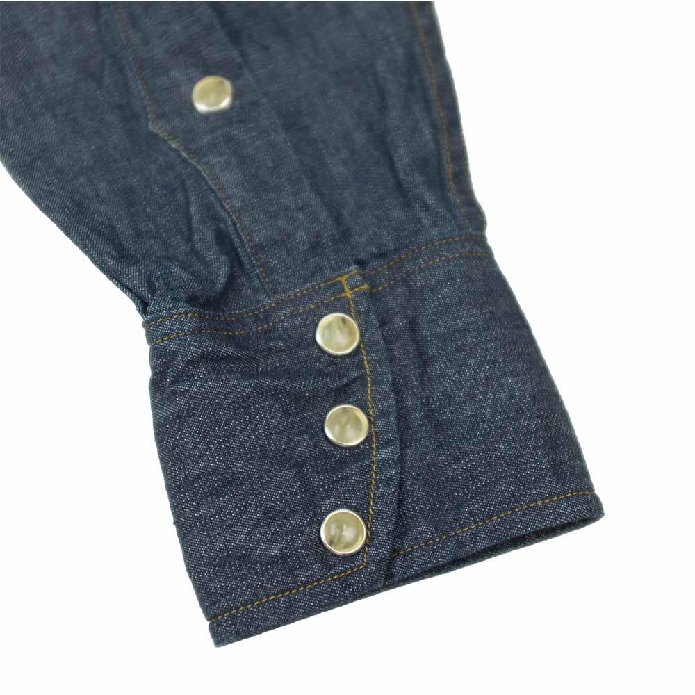 Stevenson Overall Co. Cody Shirt - Indigo 6