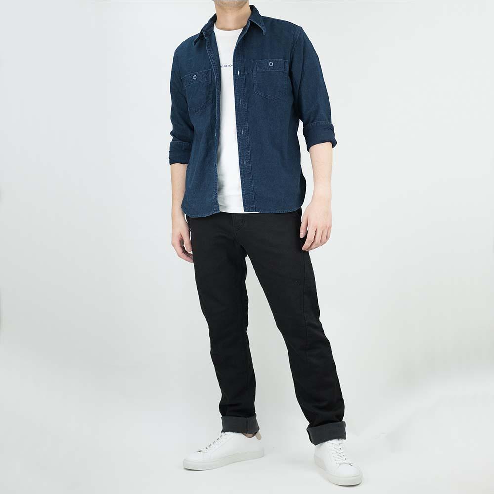 Stevenson Overall Co. Messenger Trousers - Black 10