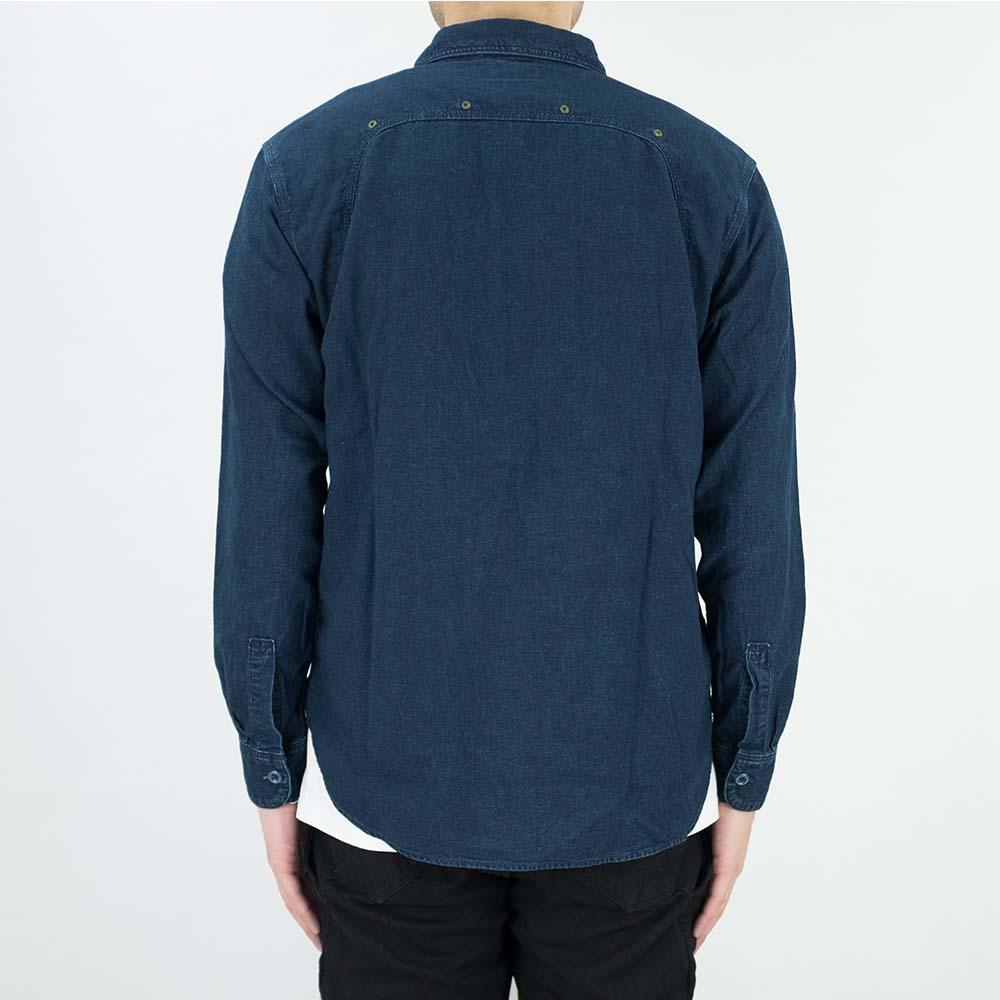 Stevenson Overall Co. Smith Shirt - Indigo 3